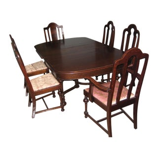 Louis F. Nonnast Sons Dining Set - Set of 7