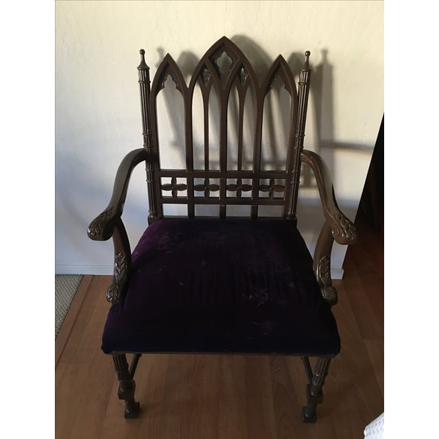 Gothic Arm Chair - Image 2 of 8