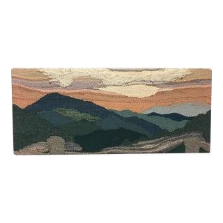 Vintage Sandy Adair Textile Landscape