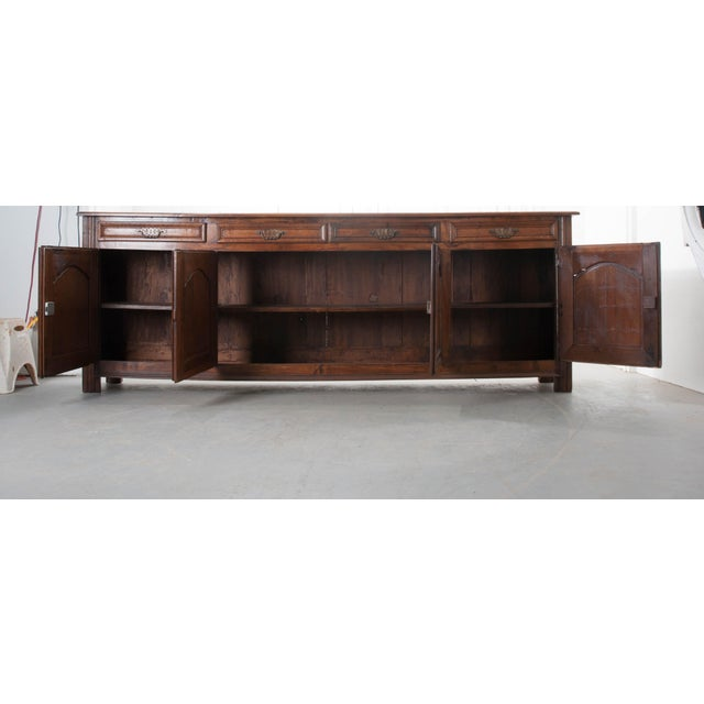 French 19th Century Oak Enfilade - Image 8 of 10