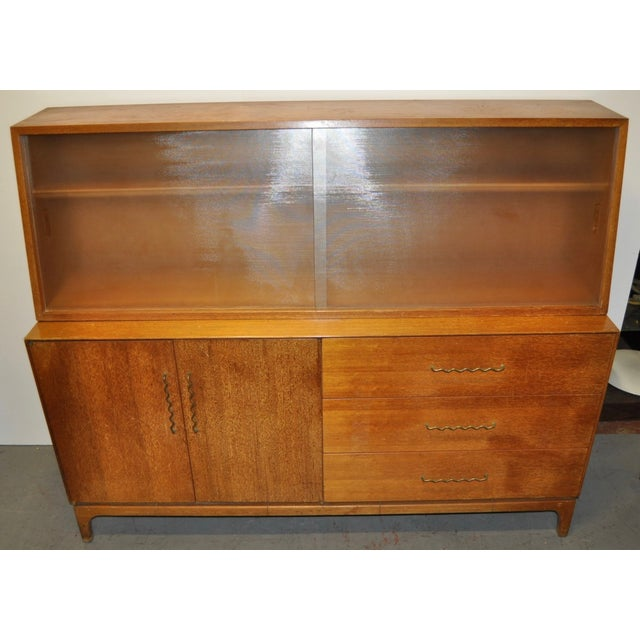 Image of 1950s Mid-Century Modern Hutch by Brown Saltman