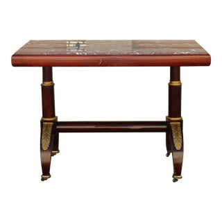 Rosewood and Mahogany Center Table