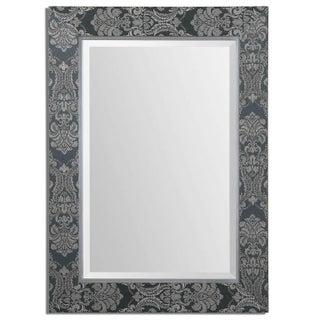 Sage Linen Framed Mirror