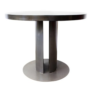 Machine Age Steel Dining Table by Rehab Vintage