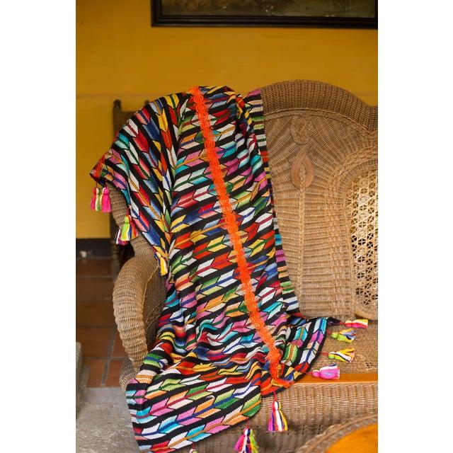 Multicolor Tassel Blanket - Image 3 of 3