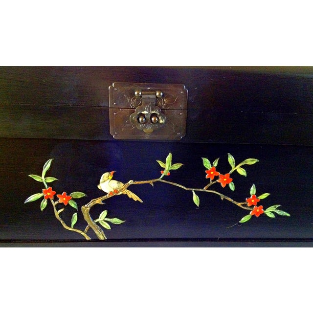 Chinese Chest With Stone Inlay - Image 7 of 11
