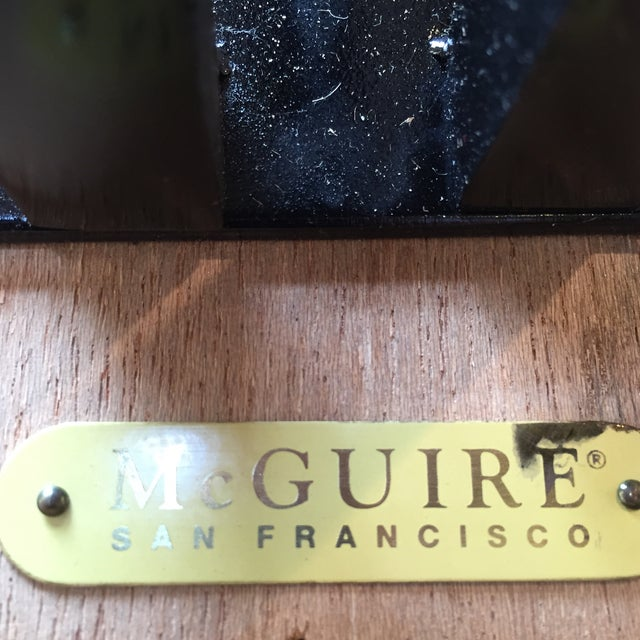 McGuire Huxley Martini Table - Image 9 of 10