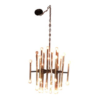 Sciolari Spoke and Tube Chandelier