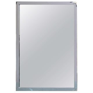 Mid-Century Modern Chromed Mirror