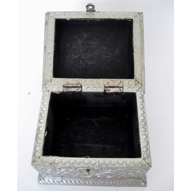 Vintage Embossed Keepsake Box - Image 7 of 8