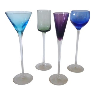 Cordial Long Stem Glasses - Set of 4