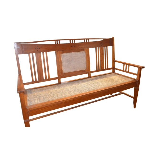 Image of Arts and Crafts Style Bench