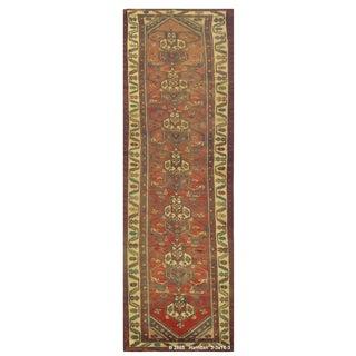 """Vintage Persian Hamedan Runner Rug - 3'3"""" x 16'3"""""""