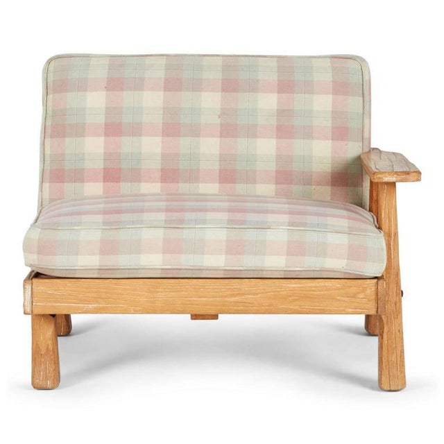 A. Brandt Ranch Textured Oak Seating Set - Image 4 of 9