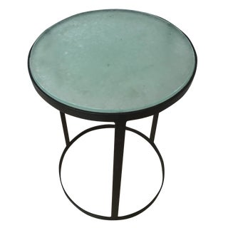 Cisco Home Iron & Glass Side Table