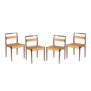 Danish Rosewood Dining Chairs - Set of 4
