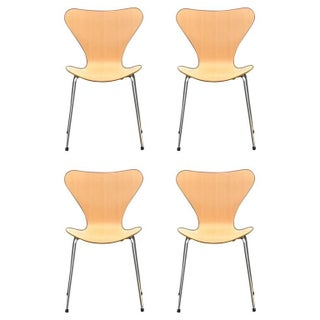 Arne Jacobsen for Fritz Hansen Mid-Century Chairs - Set of 4