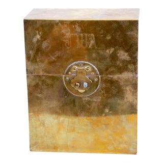 Monogrammed Brass Letter Box