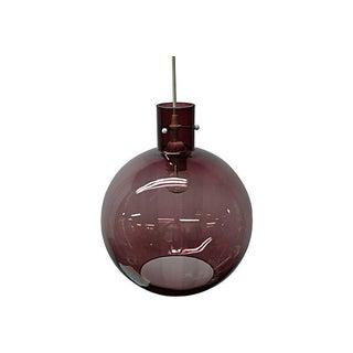1970s Globe Pendant