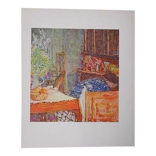Vintage Bonnard Lithograph