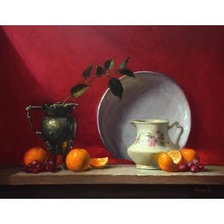 Origianal Still Life Oil Painting by Yana Golikova