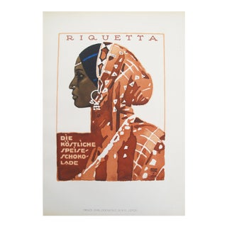 Woman in a Sari, 1926 German Poster