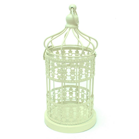 Metal Cage Lanterns - Set of 2 - Image 5 of 5