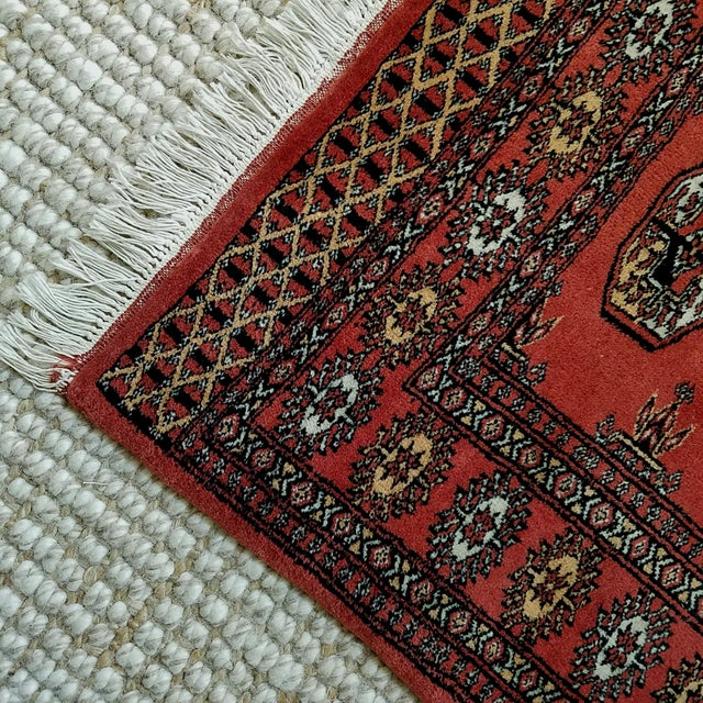 Vintage Hand Woven Persian Rug - 3′ × 5′7″ - Image 3 of 7
