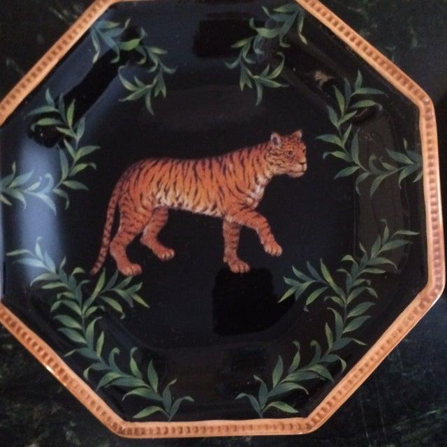Decorative Decoupage Plates - Set of Four - Image 6 of 9