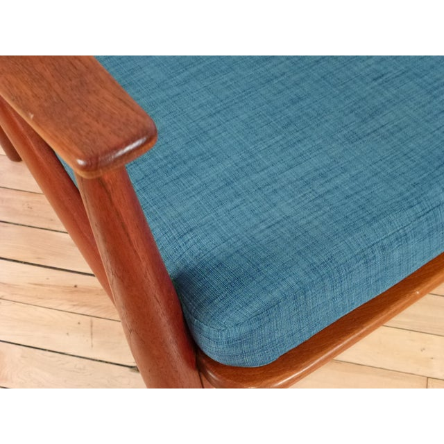 Danish Modern Peter Hvidt Cane Back Chair - Image 7 of 7