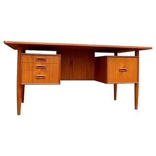 Kai Kristiansen Danish Mid-Century Teak Desk