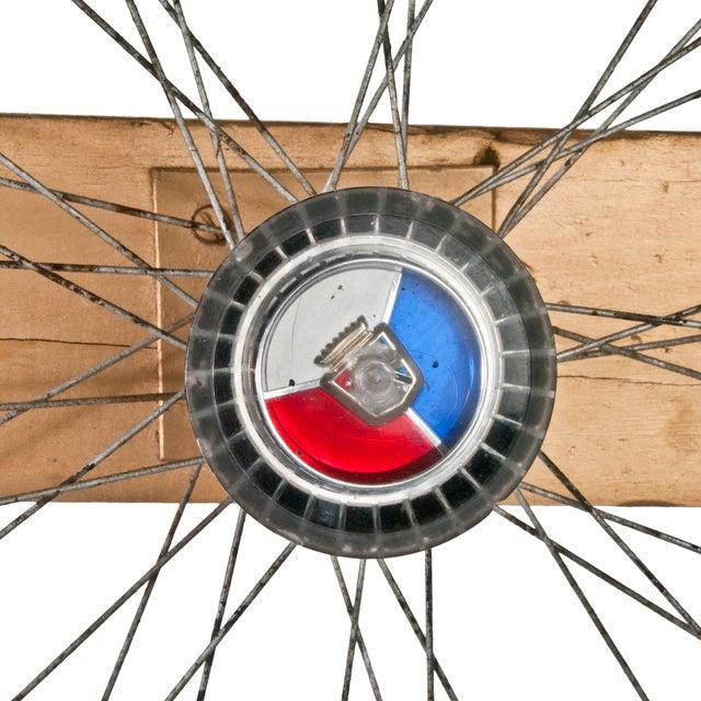 Vintage Handmade Carnival Game Wheel - Image 4 of 4