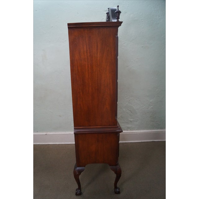 Baker Collectors Edition Chippendale Style Highboy - Image 3 of 10