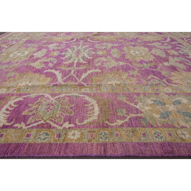 "Wool Sultanabad Rug - 8' x 10'6"" - Image 4 of 7"