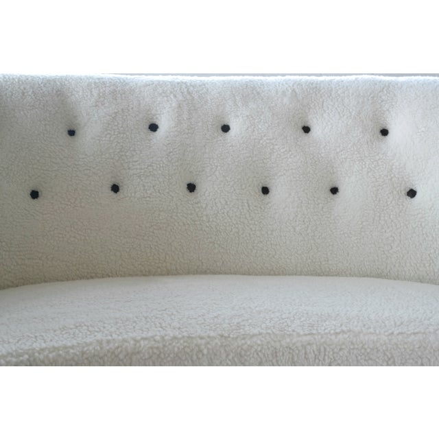 Vintage Slagelse Moebelvaerk Danish Loveseat - Image 5 of 8
