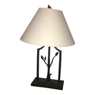 Rustic Natural Tree Lamp