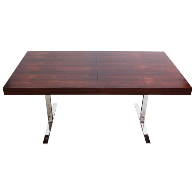 Poul Nørreklit Low Rosewood Extension Table for Georg Petersens - Image 1 of 10
