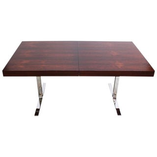 Poul Nørreklit Low Rosewood Extension Table for Georg Petersens