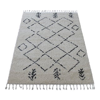 Contemporary Plush Rug with Moroccan Design - 8' x 11'