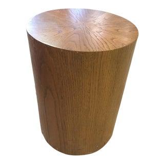 Vintage 1980's Wood Side Table