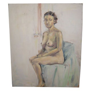 Nude Oil Portrait