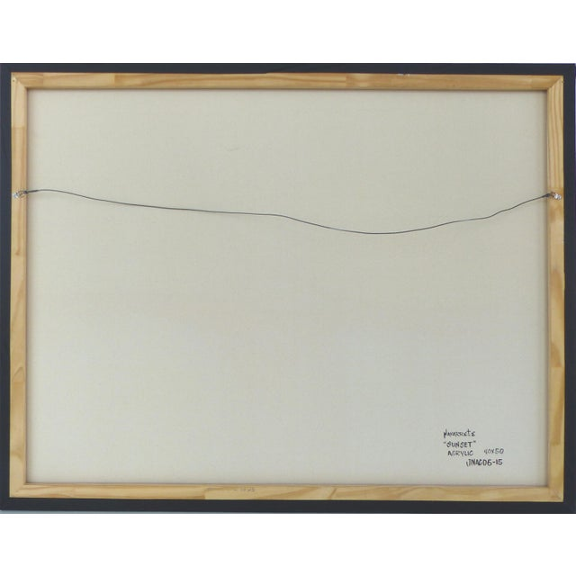 Image of Abstract Painting by Cuban - American Artist Juan A. Navarrete