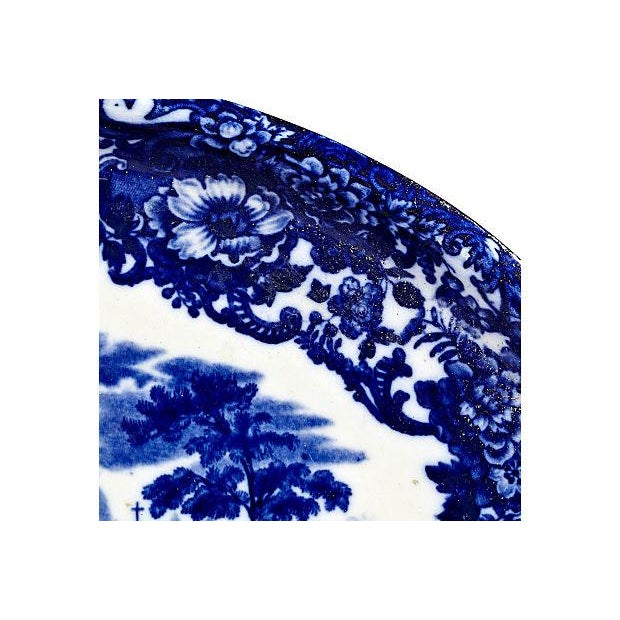 Image of Wedgwood Flow Blue Chinese Platter