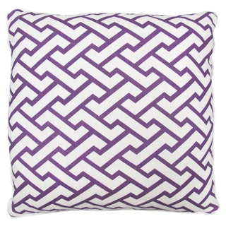 "Oomph Grape ""Aga"" Linen Pillow"
