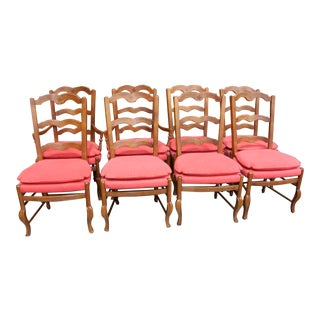 Baker French Country Dining Chairs - Set of 8