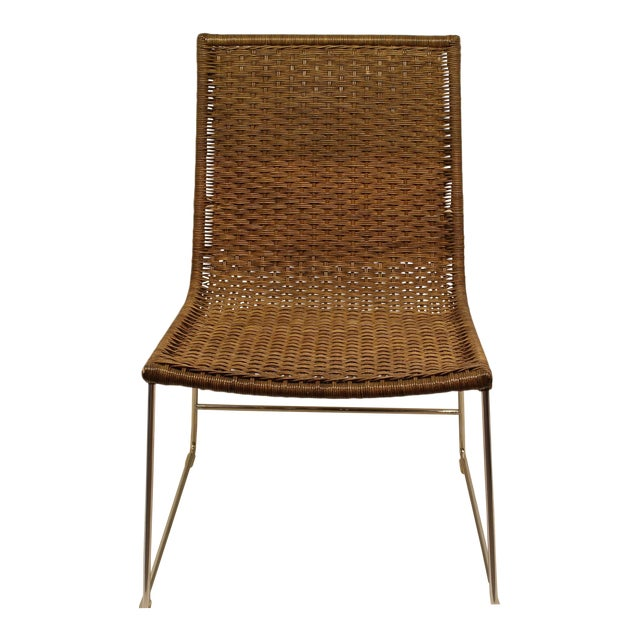 Image of McGuire Sling Chair in Cocoa