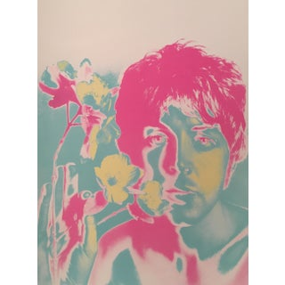 Vintage 1967 Paul McCartney Poster by Richard Avedon
