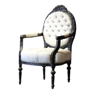 Louis XVI Bergere Chair
