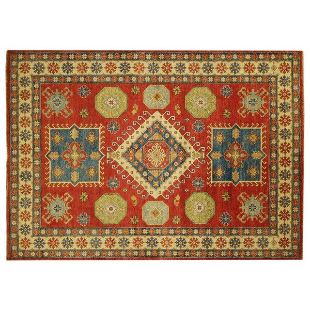 Super Kazak Area Rug Red - 9' x 12' - Image 1 of 11