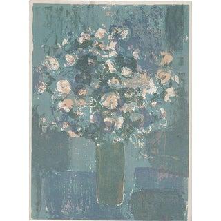 Roger Muhl, Bouquet De Fleurs, 1963 Mourlot Lithograph